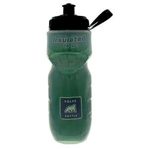 Polar Bottle Insulated Water Bottle, Hunter Green, 20-Ounce