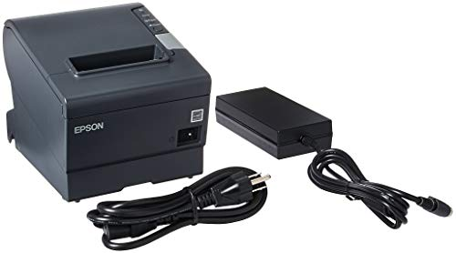 Ps180 Power Supply - Epson TM-T88V Thermal Receipt Printer (USB/Serial/PS180 Power Supply) (Renewed)