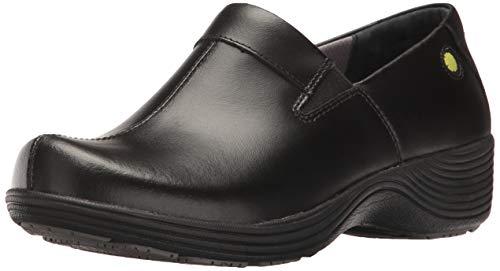 Dansko Women's Coral Clog, Black Leather, 38 Medium EU (7.5-8 US) (Dansko Shoes For Women)