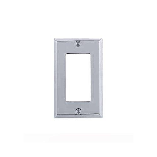 Chrome Single Switch Plates - 1