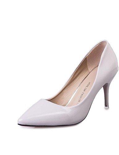 GGX/Damen Heels Fall Heels Patent Leder Casual Stiletto Heel andere schwarz/violett/rot/weiß andere red-us6 / eu36 / uk4 / cn36