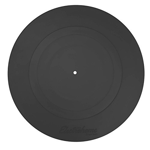 Electrohome Turntable Platter Mat Black Rubber Durable