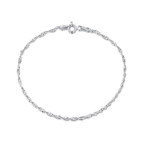 Amberta 925 Sterling Silver 1.5 mm Prince of