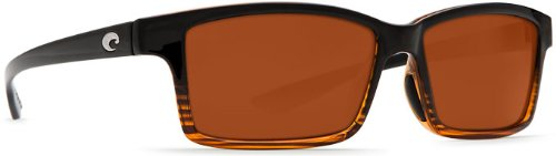 Costa Del Mar Tern Adult Polarized Sunglasses, Coconut Fade/Copper 580P, - Costa Polarized Sunglasses Tern