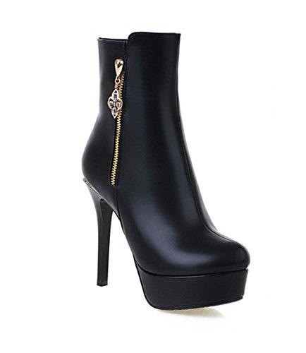 personnalité Talon Chaussures HETAO Mode Élégantes Chaussures Talon Femmes black Chaussures Talons de 0qq7H