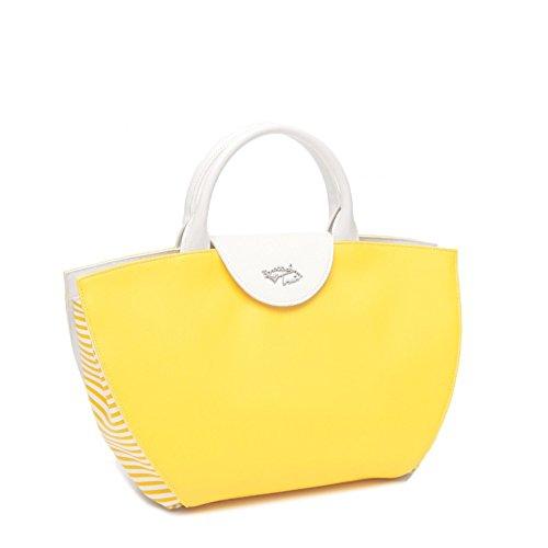 Braccialini borsa a mano Curvy B10302 giallo