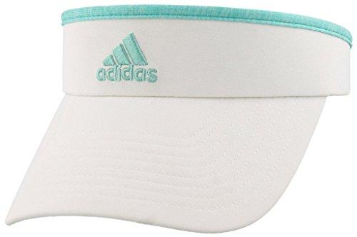 adidas Women's Match Visor, white/radiant aqua/fresh green heather, One Size]()