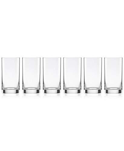 Lenox Tuscany Classics 6-Piece Juice Glass Set, 2.85 LB, Clear