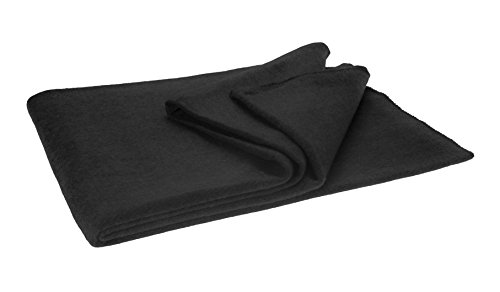 SE BI60802GR Warm 3-lb. Blanket (60″ x 80″) with 60-70% Wool, Green / Gray (No Choice in Color)