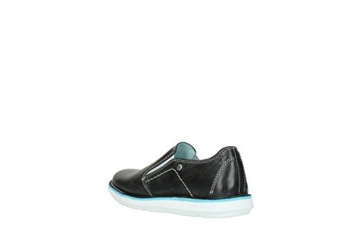 Wolky Comfort Slippers 08476 Flint 30070 schwarz sommer leder