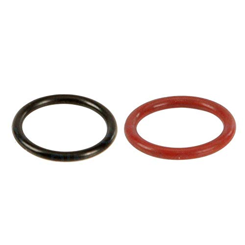 for Subaru Power Steering Pump Rubber Inlet & Outlet O-Ring Seals for P/S Hi Pressure Hose, 2 PCS KIT 34439FG000 / 34439AE021