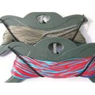 Flexifoil Dyneema Line Set - 200kg & 100kg - 25m - 4 Line Set. Recommended Control Gear for Flexifoil Rage Kites. Strong, Dynamic & Reliable - Complete with 90 Money Back Guarantee!