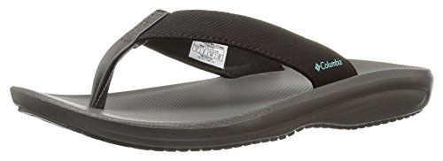 Barraca Sandal Aquarium Flip Black Women's Columbia Athletic f7q5x1