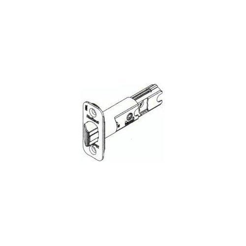 Kwikset 82247-3 Adjustable Radius Deadlatch Bright Brass Finish