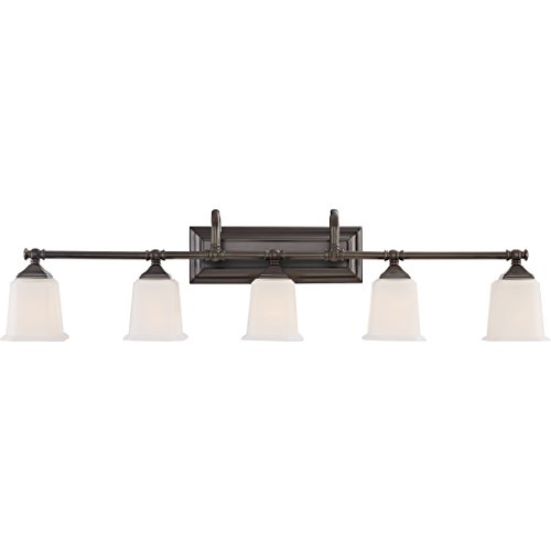 Quoizel NL8605HO Five Bath Light, Harbor Bronze