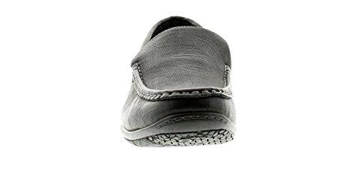 Nuovo da Uomo/da Uomo Nero da infilare Scarpe Casual - Nero - Numeri UK 6-12