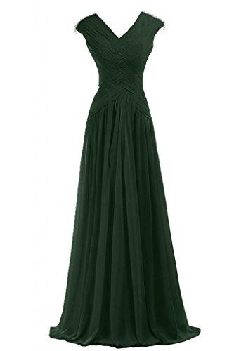 a da sera abito scollo motivo Sunvary Pageant con d'onore donna Gowns V damigella da Multicolore pieghettato abiti da 7vwpYq