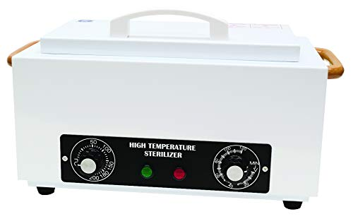 Fanta Sea Dry Heat High Temperature Sterilizer | Cleans and Sterilizes Nail Implements and Tools