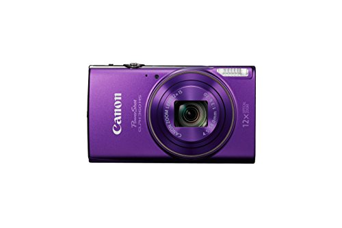 Canon PowerShot ELPH 360 Digital Camera w/ 12x Optical Zoom and Image Stabilization - Wi-Fi & NFC Enabled (Purple) by Canon (Image #2)