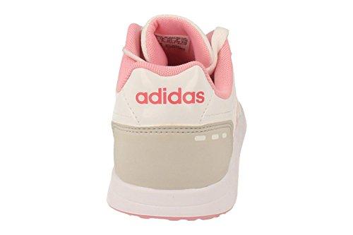 adidas Vs Switch 2 K, Zapatillas de Deporte Unisex Niños Blanco (Ftwbla / Rossua / Supros)