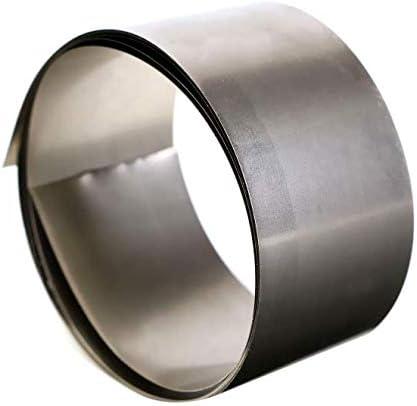 AtFipan 99.96/% Pure Nickel Metal Foil Silver Gray Ni Plate Thin Sheet 0.1x30x1000mm