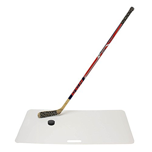 Get Out! Hockey Shooting Pad Ice Hockey Training Equipment – Synthetic Ice for Hockey Stick Handling Trainer