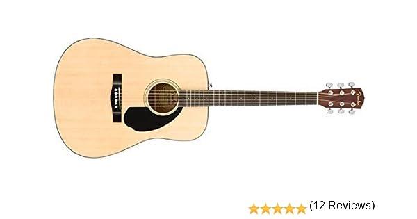 Fender CD-60S Dreadnought Pack · Set guitarra acústica: Amazon.es ...