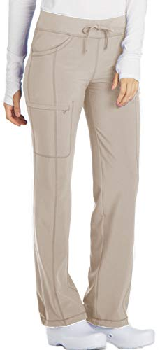 Cherokee Infinity 1123A Low Rise Drawstring Pant Khaki 3XL