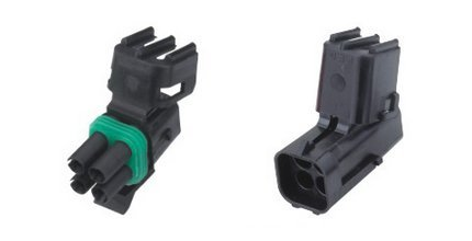 CNKF 5 Sets Delphi GM Weather Pack MAP 4 pin way 2 row male and female Weatherpack plug waterproof auto wire Connector 12015798 12015024