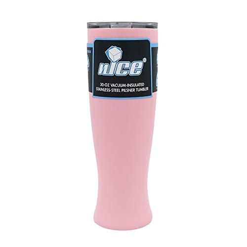 nICE TPF-515666 30 OZ Pilsner Beer Glass-Pink ()
