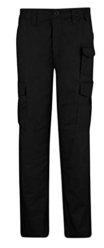 Propper Women's Uniform Tactical Pant, Black, Size 14 Unhemmed -