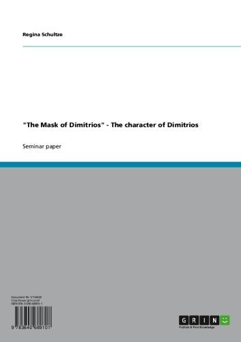 The Mask Of Dimitrios Ebook