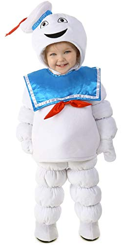 Deluxe Ghostbusters Costume (Princess Paradise Baby Ghostbusters Stay Puft Deluxe Costume, As Shown,)