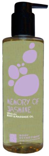 (Body Esthetique Memory of Jasmine Body & Massage Oil 8 Fl. Oz. )