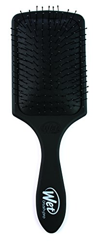 Wet Brush Pro Paddle Detangler Hair BrushBlack with Soft Bristles, Perfect Hair Brush for Men, Women and Kids, Detangler for All Hair Types - Blackout