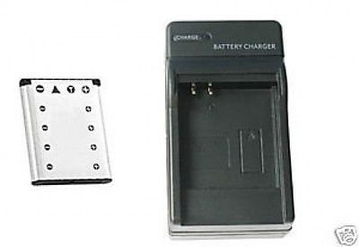 Battery + Charger for Olympus Stylus 710, Olympus 725 730, Olympus 720 SW 720 Sw Battery Charger