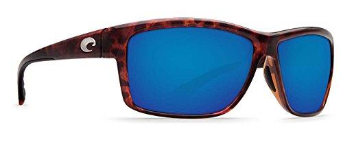 Costa Del Mar Mag Bay Sunglasses, Tortoise, Blue Mirror 580P - Discount Tortoise