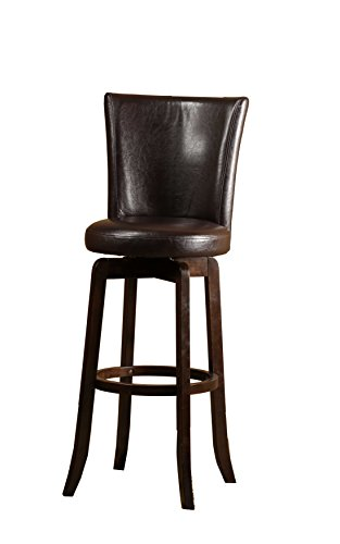 Hillsdale Furniture 4951-831 Copenhagen Swivel Bar Stool, Espresso