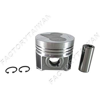 Rings Set Kit 87mm 0.5mm Oversize for KUBOTA V2203 x 4 Factorytaiwan Pistons