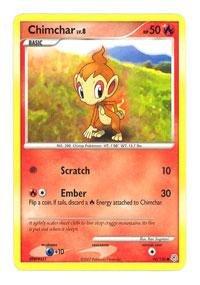Pokemon - Chimchar (76) - Diamond & Pearl