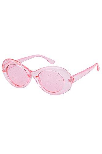 UV400 De 2P Sol Oval Gafas De Colorido Mujeres Para Pink2p Moda nYZWnqSTB