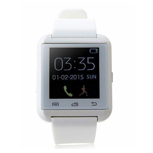 Relógio Bluetooth Smart U8 Branco