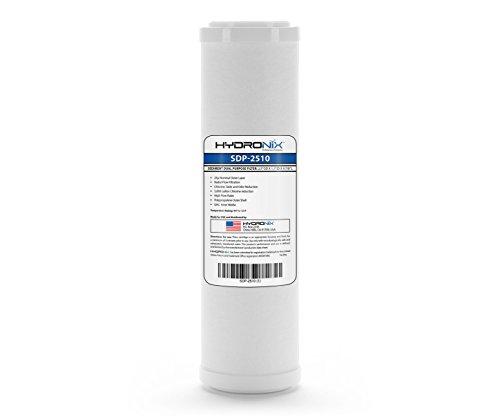(Hydronix HX-SDP-2510 Dual Purpose Radial Flow Cartridge Sediment & Carbon, RFC-93 RFC93 comparable - 2.5