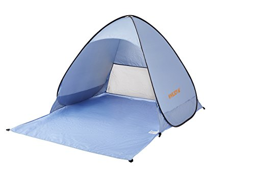 #WEJOY Lightweight Portable Pop Up Beach Tent Outdoor Easy Setup Instant Sun Shelter, UV Protection UPF 50+, Blue