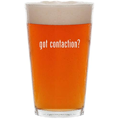 got contaction? - 16oz All Purpose Pint Beer