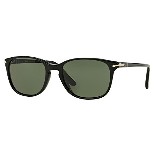 Black PO3133S Negro Persol Green Sonnenbrille FHq5Yt