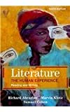Literature: the Human Experience 10e and LiterActive, Abcarian, Richard and Klotz, Marvin, 0312625901