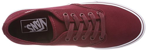 Classic da Donna Stripe Cabernet Scarpe Camden Ginnastica Basse Vans Rosso R5p Canvas qxZEgwB