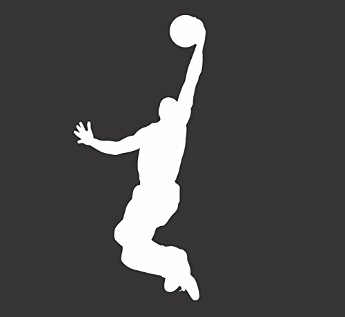 Barking Sand Designs Basketball Dunker - Die Cut Vinyl Window Decal/Sticker for Car/Truck 3