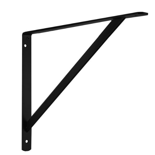 John Sterling THE MAX BRACKET Shelf Bracket, 20-inch, Black, 0049-20BKH